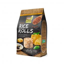 Rýžové minichlebíčky italský sýr, olivový olej 50 g Rice Up