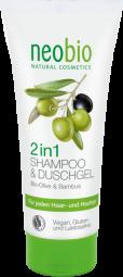 Šampon a sprchový gel 2v1