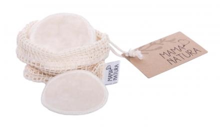 Tampon kosmetický samet - malý (7 cm) 6 ks