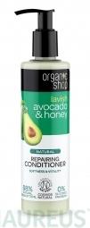 Organic Shop - Avokádo & Med - Obnovující kondicionér 280 ml