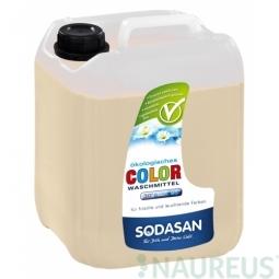 COLOR tekutý prací prostředek na barevné prádlo LIME s BIO esenciálními oleji 5L