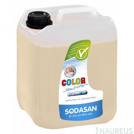 COLOR sensitive Tekutý prací prostředek na barevné prádlo bez esenciálních olejů 5L
