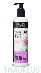 Organic Shop - Levandule - Sprchový gel 280 ml
