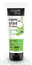 Organic Shop - Aloe z Madagaskaru - Gelová maska na obličej