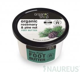 Organic Shop - Máslo na nohy Rozmarýn a borovice 250 ml