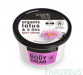 Organic Shop - Indický lotos - tělový krém 250 ml