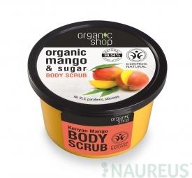 Organic Shop - Mango - Tělový peeling 250 ml