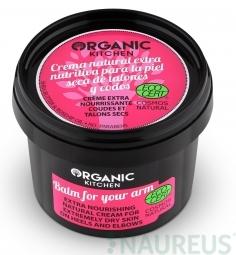 Extra výživný přírodní krém pro extrémně suchou kůži na rukou a loktech