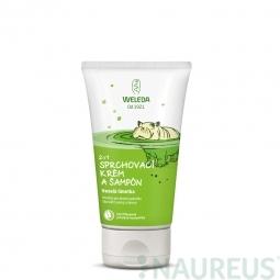 2 v 1 sprchový krém a šampon Veselá limetka
