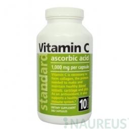 Vitamin C 1000 mg, 300 kapslí