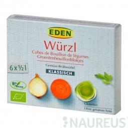 Bujon zeleninový WÜRZL kostky 66g BIO   EDEN