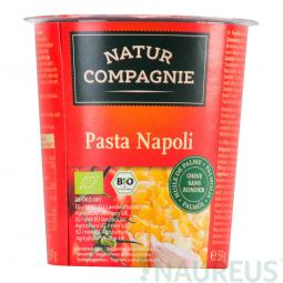 AKCE SPOTŘEBA: 17.07.2019 Těstoviny v rajčatové omáčce instantní 59g BIO   NATURCOMPAGNIE