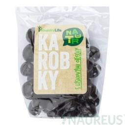 Karobky s lískovými ořechy 100 g   COUNTRY LIFE