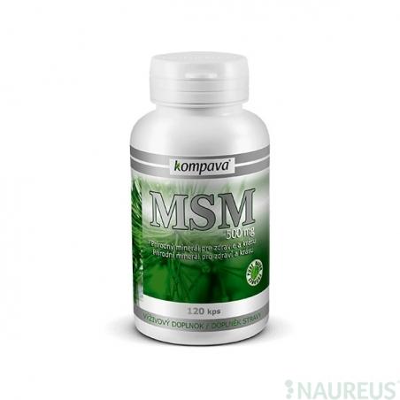 MSM 500 mg/120 kps