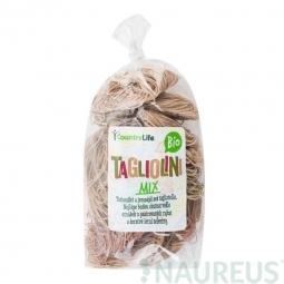 Těstoviny tagliolini mix 400g BIO   COUNTRYLIFE