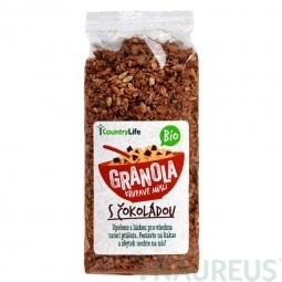 Granola - Křupavé müsli s čokoládou 350 g BIO
