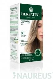 HERBATINT permanentní barva na vlasy světle popolavá blond 8C