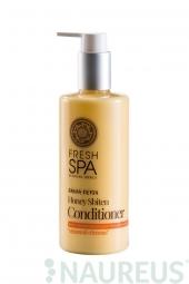 Přírodní medový kondicionér pro obnovu zničených vlasů Bani DETOX
