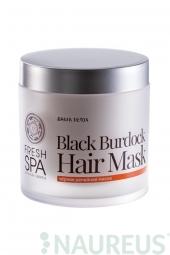 Maska pro podporu růstu vlasů Černý Lopuch * BANIA DETOX *