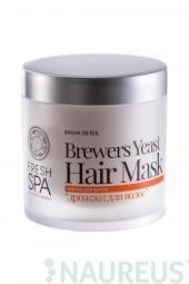 Posilující vlasová maska Pivní kvasnice BANIA DETOX