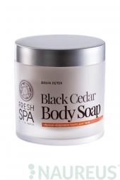Hloubkově čisticí tělové mýdlo Černý cedr * BANIA DETOX *