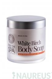 Výživné tělové mýdlo Bříza BANIA DETOX