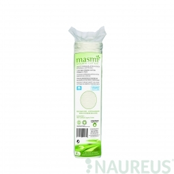 Barevné kosmetické podložky z organické bavlny 80ks MASMA