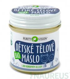 Dětské tělové máslo BIO 120 ml