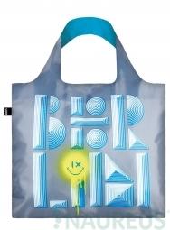 Nákupná taška LOQI Alex Trochut Berlin