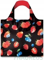Nákupná taška LOQI Juicy Strawberries
