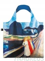 Nákupní taška LOQI Museum, Munch - Four Girls on the Bridge