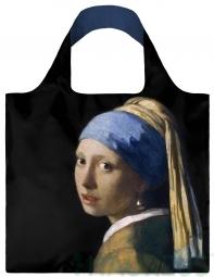 Nákupní taška LOQI Museum, Vermeer - Girl with a Pearl náušnici