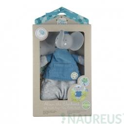 Mazlíček / kousátko - sloník Alvin (v krabici)