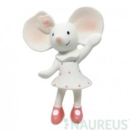 Pískátko / kousátko (100% přírodní kaučuk) - myška Meiya