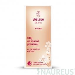 Olej na masáž prsů