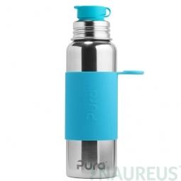 Pura® nerezová láhev se sportovním uzávěrem 850ml - Aqua