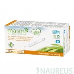 Tampony z organické bavlny s aplikátorem Super Plus MASMA