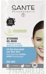 After-Work gelová maska - 2x4ml