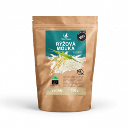 Rýžová mouka celozrnná bezlepková BIO 200 g