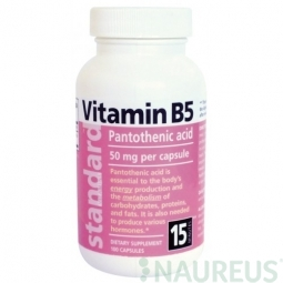 Vitamin B5 20 mg, 100 kapslí