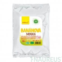 Banánová mouka BIO 400 g Wolfberry *