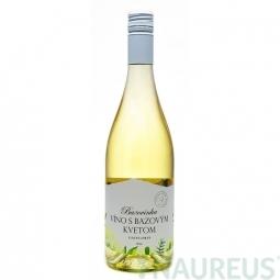 Bazovinka víno s bezovým květem 0,75 l