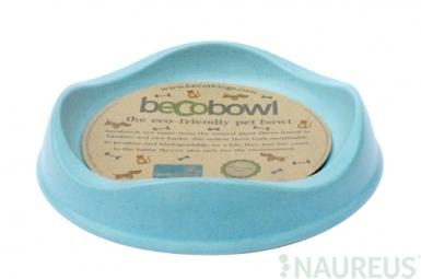 Miska pro kočku, BecoBowl-modrá, EKO