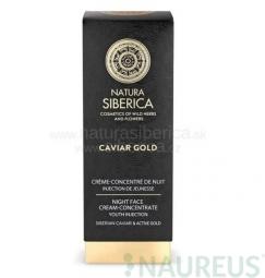 Caviar gold - noční krémový koncentrát Injekce mládí 30ml