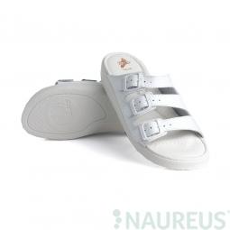 Batz dámské zdravotní pantofle 3BCS White 36