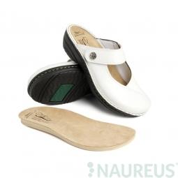 Batz dámské zdravotní pantofle Bali White 36