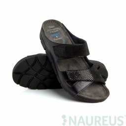 Batz dámské zdravotní pantofle Emilia Black 36