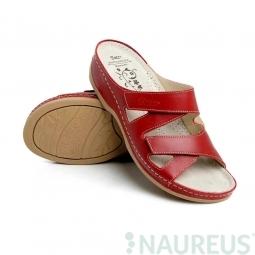 Batz dámské zdravotní pantofle Eni Red 39