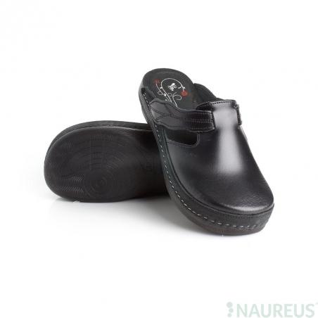 Batz dámské zdravotní pantofle Flower Black 37