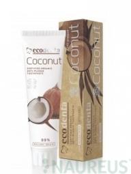 Zubní pasta proti zubnímu povlaku s kokosovým olejem a zinkovou solí
